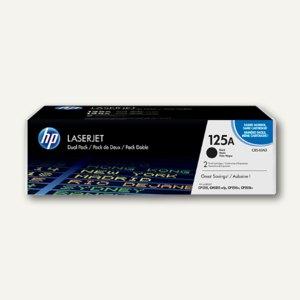HP Toner Nr. 125A, schwarz, Doppelpack, CB540AD