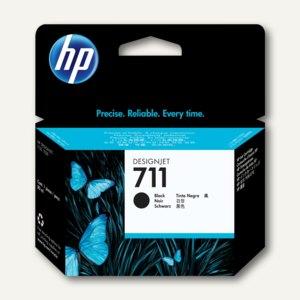 HP Tintenpatrone Nr. 711 schwarz, 80 ml, CZ133A