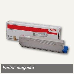 OKI Lasertoner, magenta, ca. 7.300 Seiten, 44844614