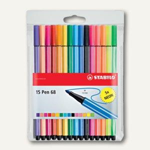 Fasermaler Pen 68 Set 1b