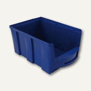 VISO Lagersichtkasten, 10 Liter, blau, STAR4B