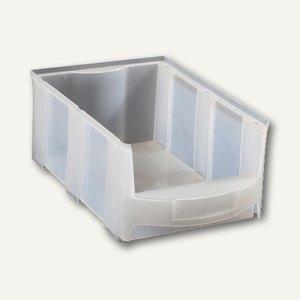 VISO Lagersichtkasten, 10 Liter, transparent, STAR4T