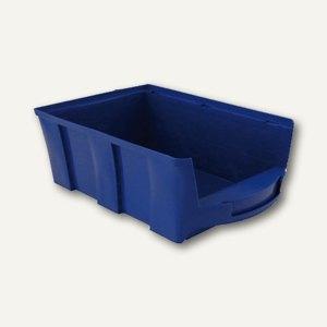 VISO Lagersichtkasten, 28 Liter, blau, STAR5B