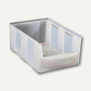 VISO Lagersichtkasten, 28 Liter, transparent, STAR5T