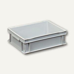 VISO Leichtbehälter EURONORM, 10 Liter, 40 x 30 x 12 cm, grau, 10NK