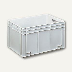 VISO Leichtbehälter EURONORM, 65 Liter, 60 x 40 x 34 cm, grau, 70NK