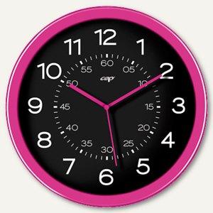 CEP Wanduhr CepPro Gloss, Polystyrol, 30x4.5cm, pink