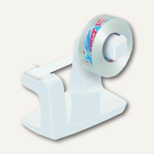 Tischabroller Easy Cut Frame, 33m x 19mm, inkl. kristall-klar, weiß, 53840-00000