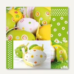 "Motivservietten ""Easter Harmony"", 1/4-Falz, 3-lagig, 33 x 33 cm, 300 St., 81466"