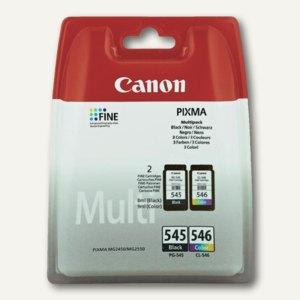 Canon Druckkopf farbig, ca. 180 Seiten, CL-546 + PG545, 8287B005