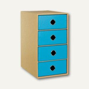 Artikelbild: NATURE PACIFIC 4er Schubladenbox DIN A5