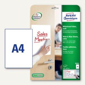 Artikelbild: Avery Zweckform Whiteboard-Folien