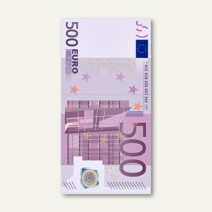 Motivservietten Five Hundred Euro