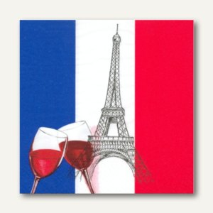 Motivservietten France