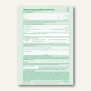 Anstellungsvertrag gewerbliche Arbeitnehmer