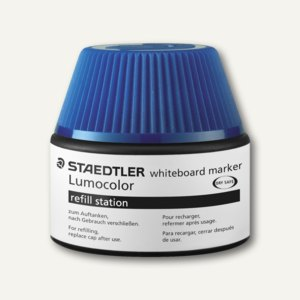 "Staedtler Refill-Station Lumocolor für Whiteboard-Marker ""351"", blau, 488 51-3"