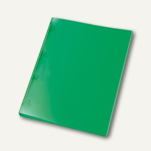 Ringbücher PROPYGLASS® Viquel A4, 4-Rund-Ringe Ø 20 mm, transluzent-grün, 12 St.