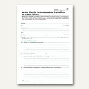 Pachtvertrag Grundstück