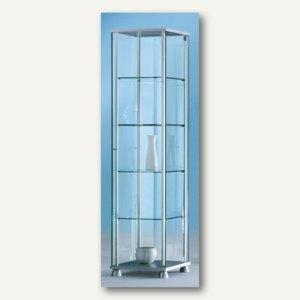 Ganzglasvitrine FORUM 2 - 172 x 43 x 43 cm