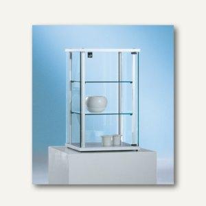 Artikelbild: Ganzglasvitrine / Aufsatzvitrine FORUM 4 - 70x43x43 cm