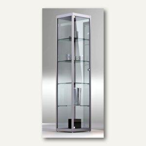 BST Ausstellungsvitrine INSIDE-050 Säulenvitrine, 182 x 50 x 50 cm,INSIDE-050/SG