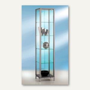 Artikelbild: Säulenvitrine LINK - 40 x 40 x 186 cm