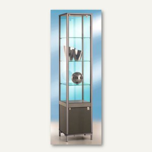 Artikelbild: Säulenvitrine LINK/Staufach - 40x40x186 cm