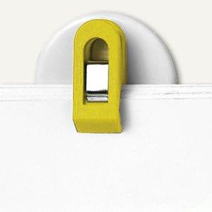 Laurel Wandklette/Wandhalter, selbstklebend, 30 mm, gelb, 20 Stück, 4419-70