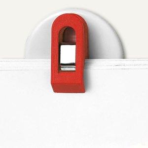 Laurel Wandklette/Wandhalter, selbstklebend, 30 mm, rot, 20 Stück, 4419-20