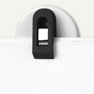 Laurel Wandklette/Wandhalter, selbstklebend, 30 mm, schwarz, 20 Stück, 4419-11
