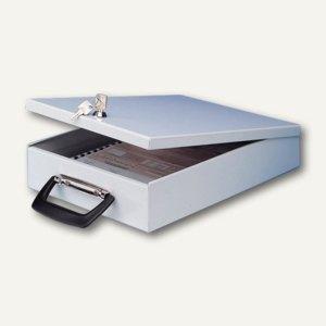 Dokumenten-Kassette mit Koffergriff für Akten