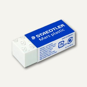 Staedtler Radierer Mars plastic mini, mit Schiebemanschette, 526 53