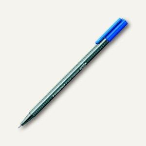 Staedtler Triplus Fineliner 334, dreikantig, Strichbreite 0.3 mm, cyan, 334-37
