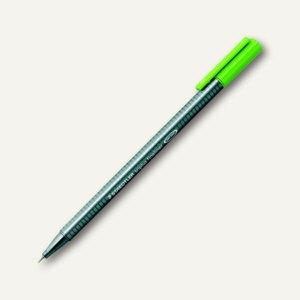 Triplus Fineliner 334, dreikantig, Strichbreite 0.3 mm, gelbgrün, 334-51