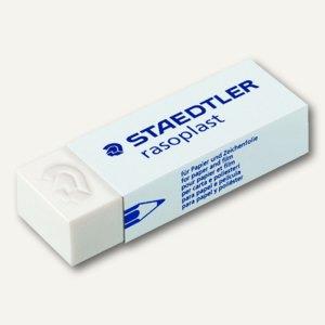 Staedtler Radierer rasoplast, mit Schiebemanschette, latexfrei, groß, 526 B20