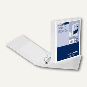 Falken Präsentations-Ringbuch CREATIVE, DIN A4, 2-Ring Ø 30 mm, weiß, 11298601