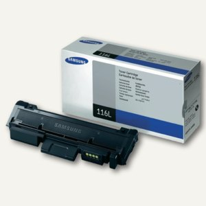 Samsung Tonerkartusche, ca. 3.000 Seiten, schwarz, MLT-D116L/ELS