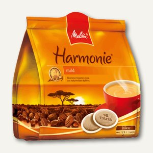 "Melitta Kaffeepads ""Harmonie"", 16 Stück/Pack, 4002720001752"