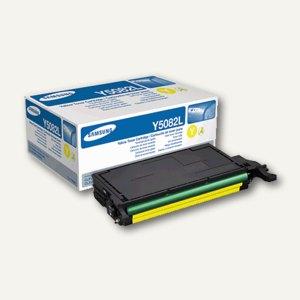 Samsung Toner für CLP-620 / CLP-670, ca. 4.000 Seiten, gelb, CLTY5082L/ELS