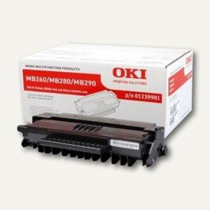 OKI Lasertoner, ca. 3.000 Seiten, schwarz, 01239901