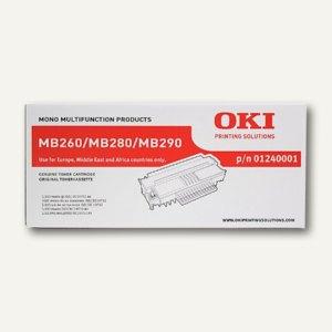 OKI Lasertoner, ca. 5.500 Seiten, schwarz, 01240001