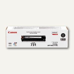"""Canon Lasertoner """"731BK"""", ca. 1.400 Seiten, schwarz, 6272B002"""