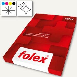 Farb-Laserfolie BG-72 WO, DIN A3, 180 my, weiß-opak glänzend, 50er Pack, 29729.1