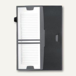 Durable Ordnungsmappe TIMER, DIN A4, PP, anthrazit, 5 Stück, 2477-57