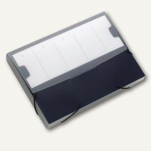 Durable Sammelbox LARGE, DIN A4, PP, dunkelblau, 5 Stück, 2474-07