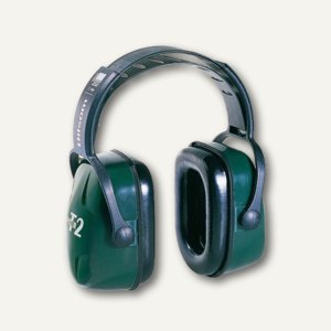 Kapselgehörschutz Thunder T2, Schalldämmung 30dB, schwarz/dunkelgrün, 1010929