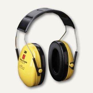 3M Kapsel-Gehörschutz Optime I, Schalldämmung 27dB, schwarz/gelb, H510A-401-GU