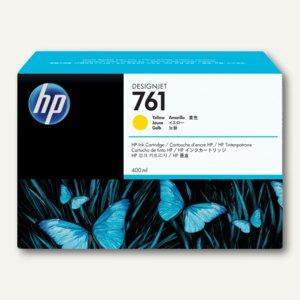 HP Tintenpatrone Nr. 761, 400 ml, gelb, CM992A