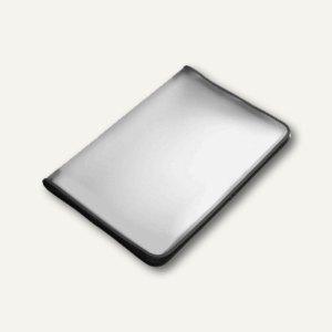 FolderSys Konferenzmappe transparent, A3, Folie matt, schwarz, 2St., 40450-30