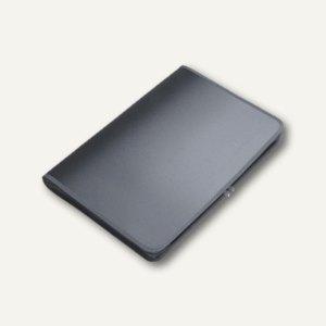 FolderSys Konferenzmappe transparent, A3, Folie matt, anthrazit, 2St., 40450-34